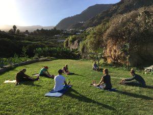 Fastenwandern Fasten Teneriffa Yoga Detox retreat wandern Buchinger